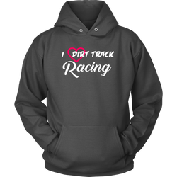 I Love Dirt Track Racing Shirt, By Turn Left T-Shirts