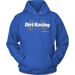 Dirt Track Racing Sweatshirt Racewear For Men By Turn Left T-Shirts
