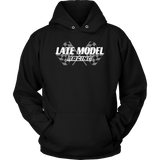 Late Model Racing Hooded Sweatshirt - Turn Left T-Shirts Racewear