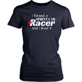 I Kissed A Sprint Car Racer And I Liked It T-Shirt - Turn Left T-Shirts Racewear