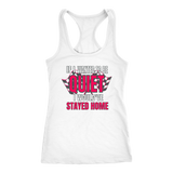 If I Want To Be Quiet I Would've Stayed Home T-Shirt - Turn Left T-Shirts Racewear