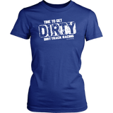 Time To Get Dirty T-Shirt - Turn Left T-Shirts Racewear