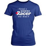 I Kissed A Modified Racer And I Liked It T-Shirt - Turn Left T-Shirts Racewear