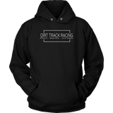 Dirt Track Racing Sprint Car Modified Late Model Racing Hoodie - Turn Left T-Shirts Racewear