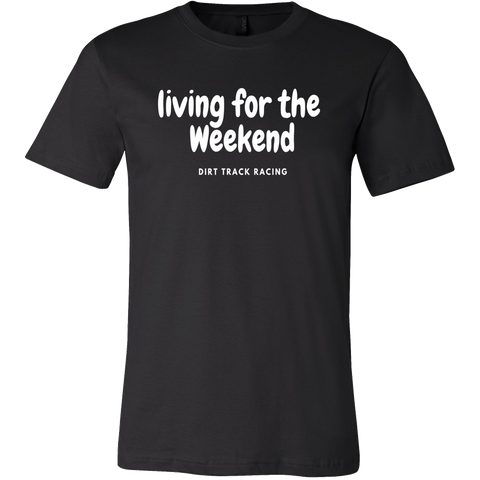 Living For The Weekend T-Shirt - Turn Left T-Shirts Racewear