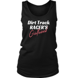 Dirt Track Racer's GIRLFRIEND Tank Top - Turn Left T-Shirts Racewear