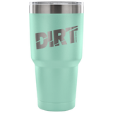 Dirt Track Racing 30 oz Travel Tumbler - Turn Left T-Shirts Racewear