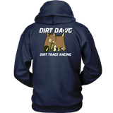 Dirt Dawg Collection Double Side Print Hoodie - Turn Left T-Shirts Racewear