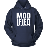 Modified Racing Series Hoodie - Turn Left T-Shirts Racewear