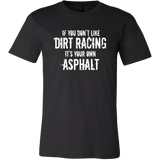 Funny Dirt Track Racing Shirts, Dirt Racing Shirts For Men, By Turn Left T-Shirts Racewear
