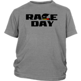 Race Day Youth Hoodie Or T-Shirt - Turn Left T-Shirts Racewear