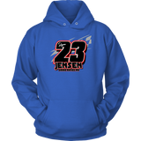 Jensen Racing Hoodie - Turn Left T-Shirts Racewear