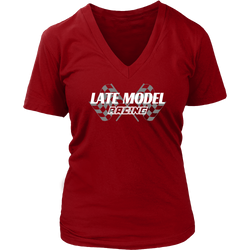 Late Model Racing Shirts, Women Dirt Track Racing T-shirts By Turn Left T-Shirts Racewear