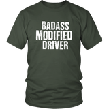 Badass Modified Driver T-Shirt - Turn Left T-Shirts Racewear