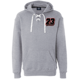 JA8830 Heavyweight Sport Lace Hoodie - Turn Left T-Shirts Racewear