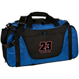 Jensen Racing Team Colorblock Gear Bag MEDIUM (ORANGE) - Turn Left T-Shirts Racewear