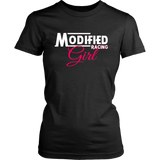 Modified Racing Girl T-Shirt - Turn Left T-Shirts Racewear
