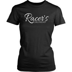 Racer's Girlfriend Women T-Shirt - Turn Left T-Shirts Racewear