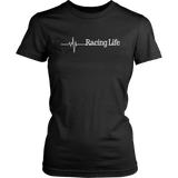 Racing Life Women T-Shirt - Turn Left T-Shirts Racewear