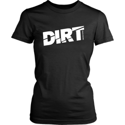 DIRT Trace Racing Women T-Shirt - Turn Left T-Shirts Racewear