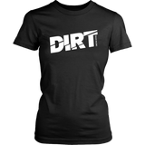 DIRT Track Racing Women T-Shirt - Turn Left T-Shirts Racewear