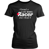 I Kissed A Late Model Racer And I Liked It T-Shirt - Turn Left T-Shirts Racewear