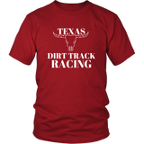Texas Dirt Track Racing T-Shirt - Turn Left T-Shirts Racewear