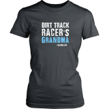 Dirt Track Racer's Grandma Women T-Shirt - Turn Left T-Shirts Racewear
