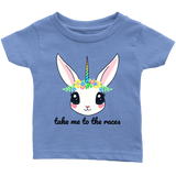 Take Me To The Races Unicorn Infant T-Shirt - Turn Left T-Shirts Racewear