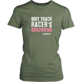 Dirt Track Racer's Girlfriend T-Shirt - Turn Left T-Shirts Racewear