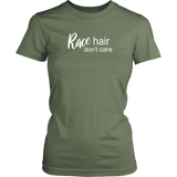 Race Hair Don't Care T-Shirts - Turn Left T-Shirts Racewear