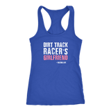 Dirt Track Racer's Girlfriend Tank - Turn Left T-Shirts Racewear