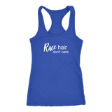 Race Hair Don't Care Tank Top - Turn Left T-Shirts Racewear