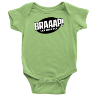 BRAAAP Racing Onesie - Turn Left T-Shirts Racewear