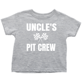 Uncle's Pit Crew Toddler T-Shirt - Turn Left T-Shirts Racewear