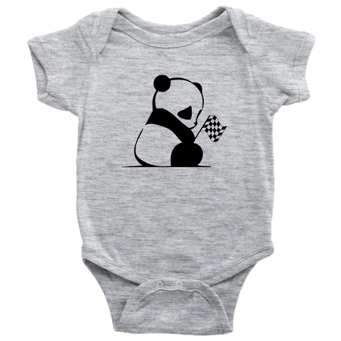 Panda Bear Racing Onesie - Turn Left T-Shirts Racewear