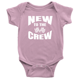 New To The Crew Onesie - Turn Left T-Shirts Racewear