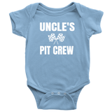 Uncle's Pit Crew Onesie - Turn Left T-Shirts Racewear