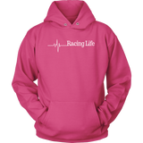 Racing Life - Life Line Hoodie - Turn Left T-Shirts Racewear