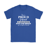 I'm A Proud Girlfriend Classic T-Shirt - Turn Left T-Shirts Racewear