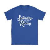 Saturdays Are For Racing Classic T-Shirt - Turn Left T-Shirts Racewear