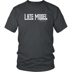 Late Model Dirt Racing T-Shirt - Turn Left T-Shirts Racewear