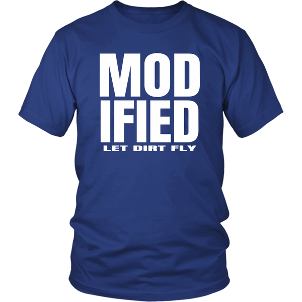 Modified Let Dirt Fly Collection T-Shirt - Turn Left T-Shirts Racewear