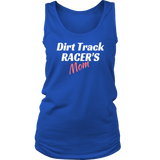 Dirt Track Racer's MOM Tank Tops - Turn Left T-Shirts Racewear