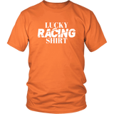 Lucky Racing Shirt Men T-Shirt - Turn Left T-Shirts Racewear