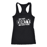 Time To Get Dirty Tank Top - Turn Left T-Shirts Racewear