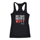 Dirt Track Racer's Wifey Tank Top - Turn Left T-Shirts Racewear