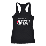 I Kissed A Sprint Car Racer And I Liked It Tank Top - Turn Left T-Shirts Racewear
