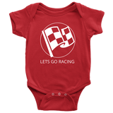 Let's Go Racing Onesie - Turn Left T-Shirts Racewear