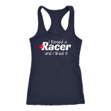I Kissed A Racer And I Liked It Tank Top - Turn Left T-Shirts Racewear